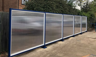 Acoustic Screens Installation